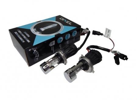 Биксеноновая лампа Dixel UXV H4 H/L 6000K Ceramic