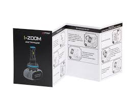 H7 Optima LED i-ZOOM, Seoul-CSP, White, 9-32V