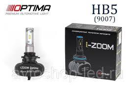 HB5 / 9007 Optima LED i-ZOOM, Seoul-CSP, Warm White, 9-32V