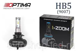 HB5 / 9007 Optima LED i-ZOOM, Seoul-CSP, White, 9-32V
