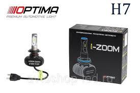 PSX24W Optima LED i-ZOOM, Seoul-CSP, White, 9-32V