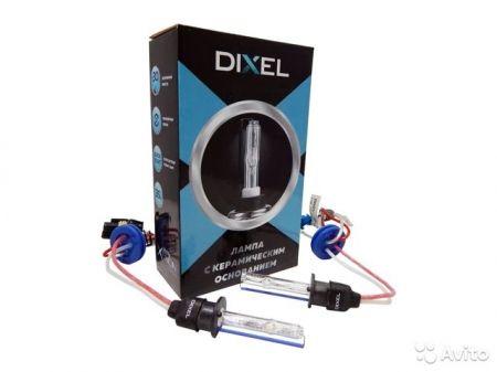 Ксеноновая лампа Dixel UXV H1 4300K Ceramic