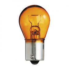 МАЯК лампа  цоколь (стоп, габарит) однаконтактная  оранжевая